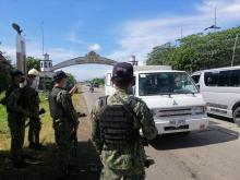 DAS MPS personnel continue to conduct checkpoint as part of crime prevention program. (DAS MPS)